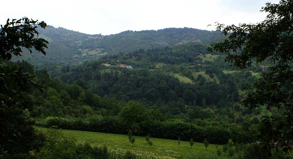 Priveliște spre satul Federi